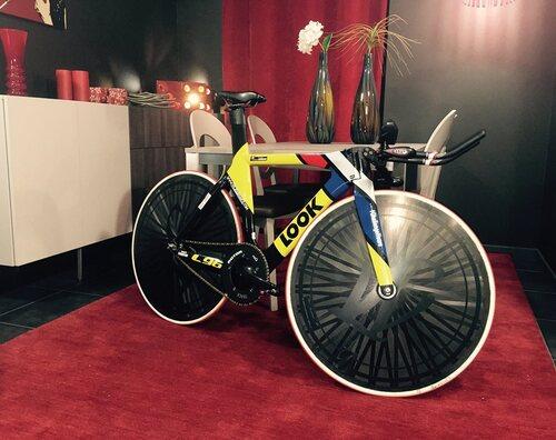 Nouveau vélo LOOK, Stage piste et prochains RDV