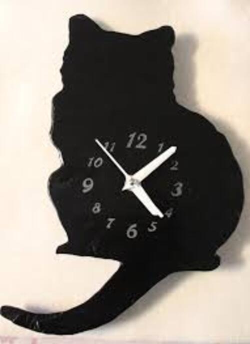 Horloges chat