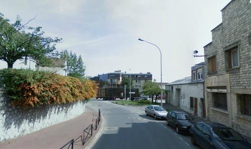 Les rues du quartier en 2008