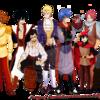 Les Garçons de Fairy Tail en princes Disney