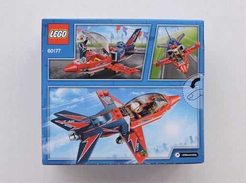 LEGO CITY - Airshow Jet (87 pièces)