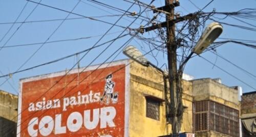 Réseau electrique Inde Varanasi Bénarès 5