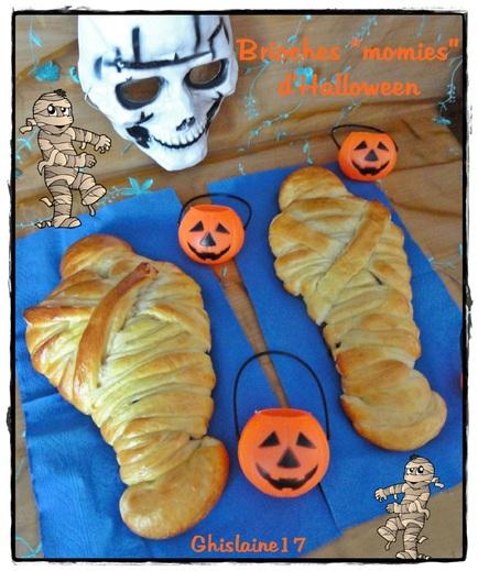"Brioches ""momies""d'Halloween"