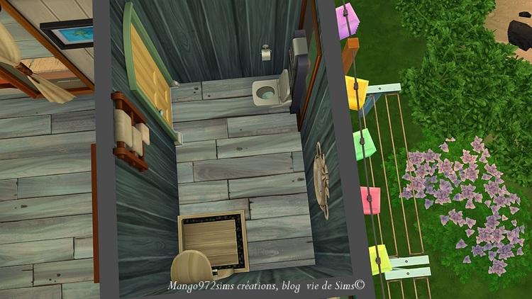 Les sims 4 : La  villa Morne-Rouge