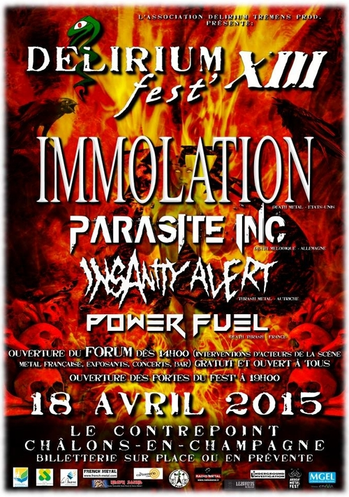 DELIRIUM FEST XIII_Chalons_18 Avril 2015