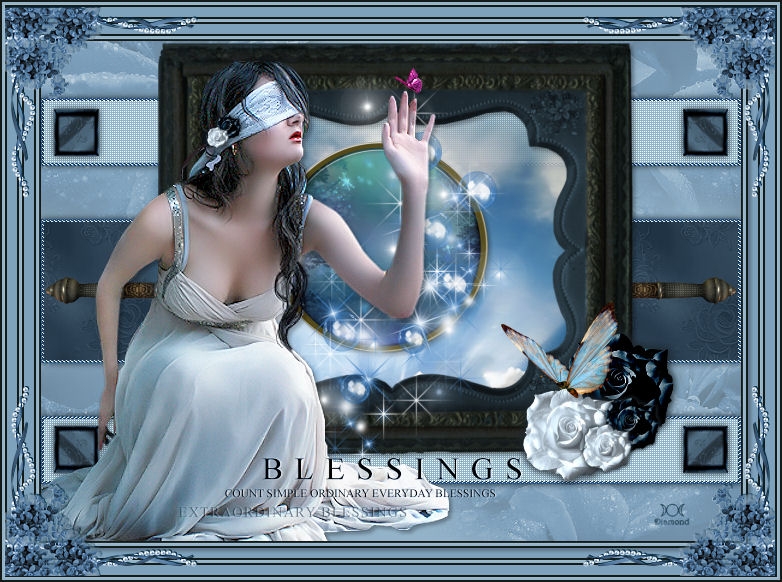 "Tutoriel ""Blessings"" de l'antre de Christine"