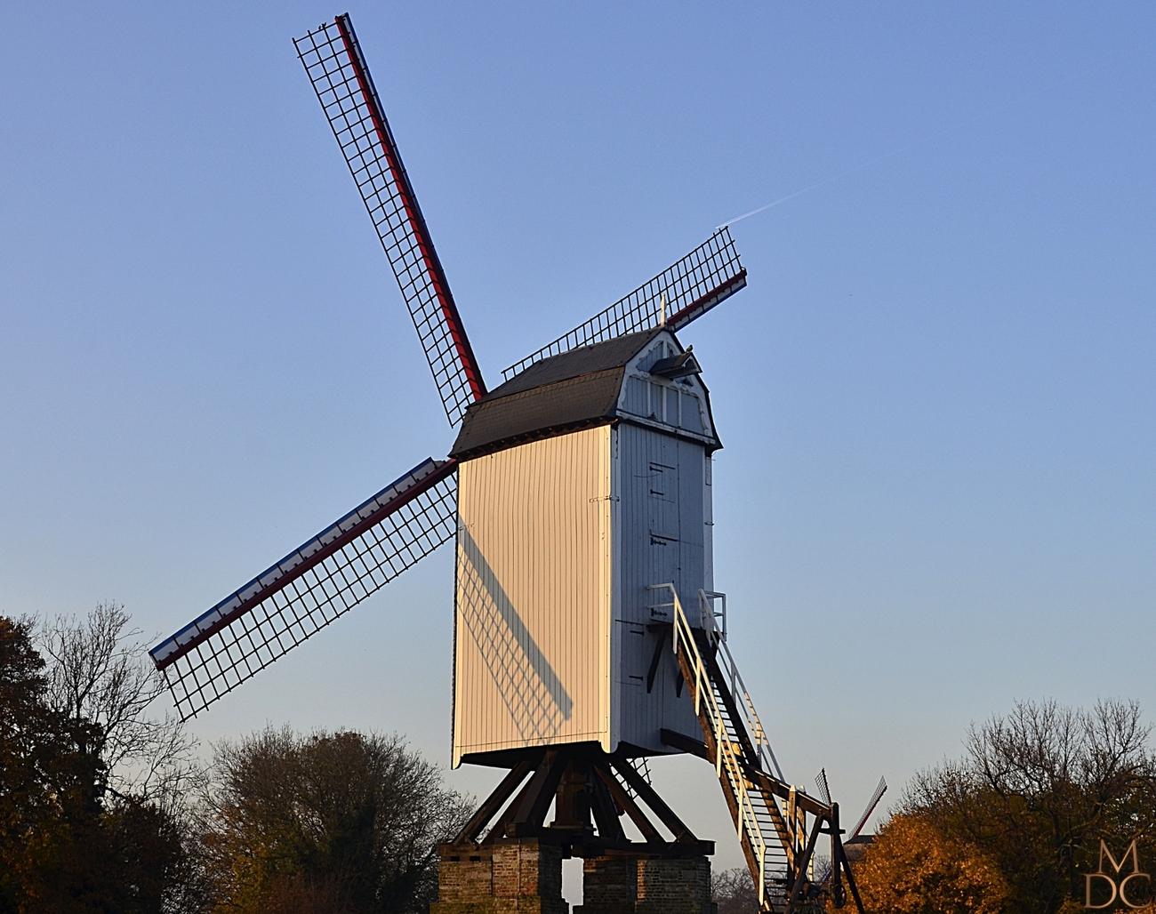 """Moulin """"La Bonne Chière"""" à BRUGES (B)"""