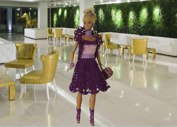 Barbie en modèle Améthyste