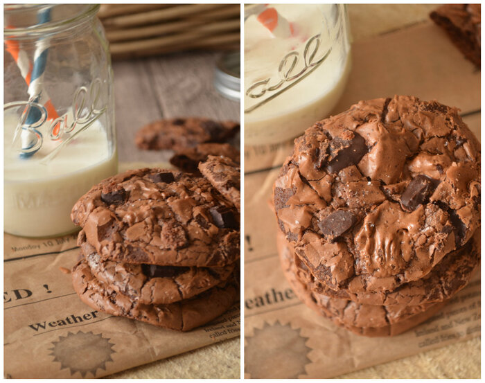 {Re} Decouvrez les Outrageous Chocolate Cookies