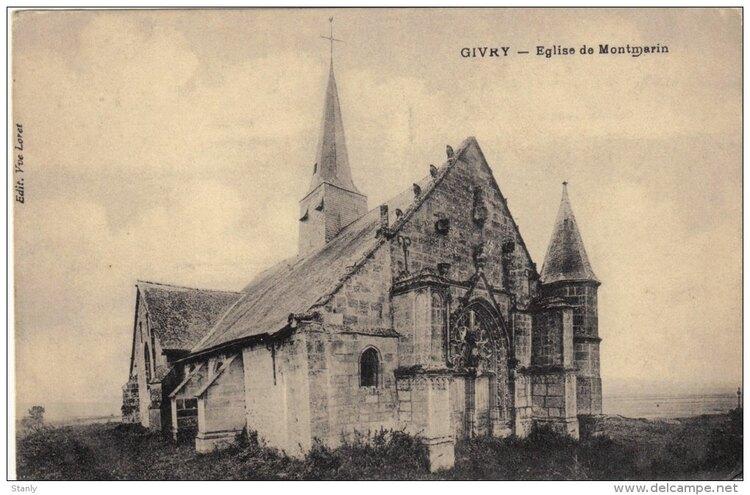 L'église de Givry