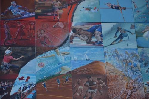 Sherbrooke peinture murale
