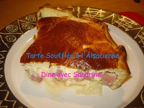 La Tarte Soufflée à l'Alsacienne
