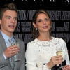 Ashley Greene et Xavier Samuel en Belgique