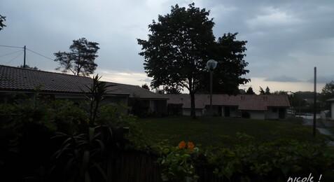 Il arrive ... l'orage !!!