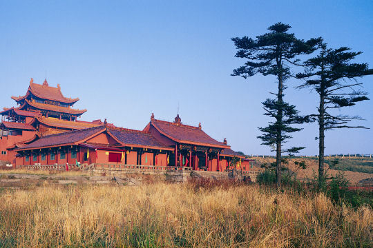 temple huazang