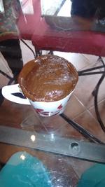 Nos premier Mug Cake!