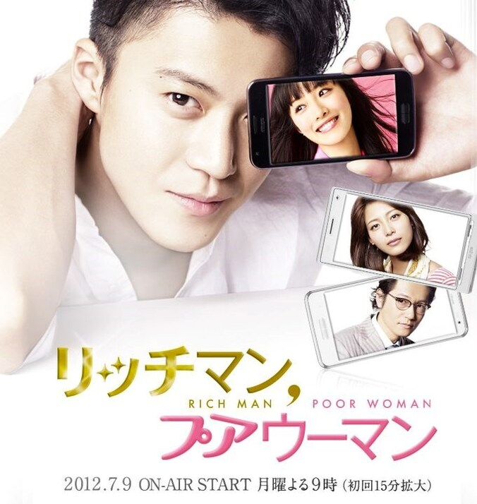 Rich man Poor woman (J drama)