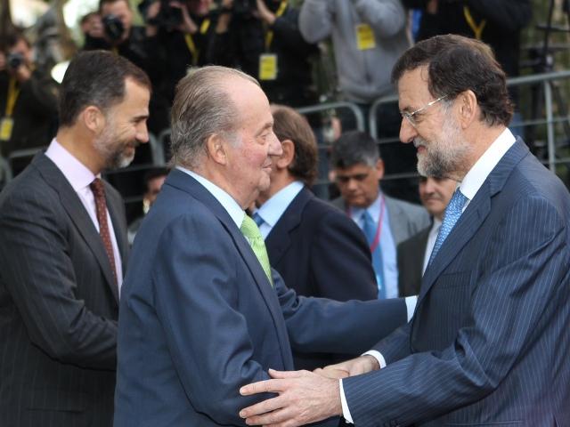 Felipe et Juan Carlos reçoivent