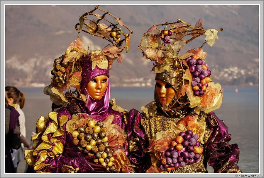 Annecy, carnaval vénitien (doré)