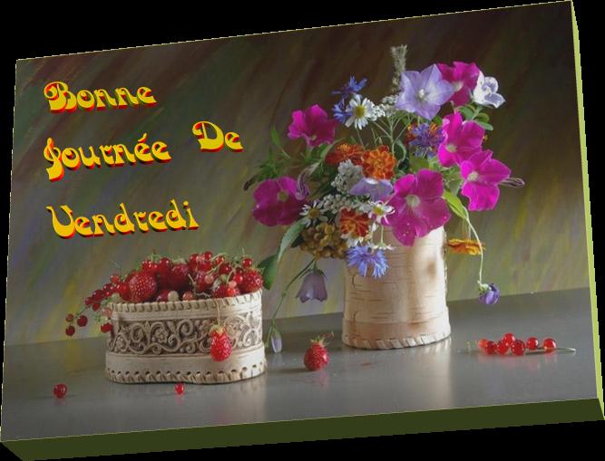 Bonne Journée De Vendredi