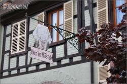 Enseigne Bergheim Haut-Rhin Alsace