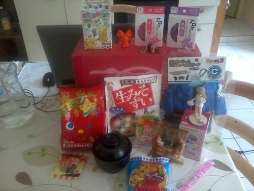 NihonBox de Juillet 2016