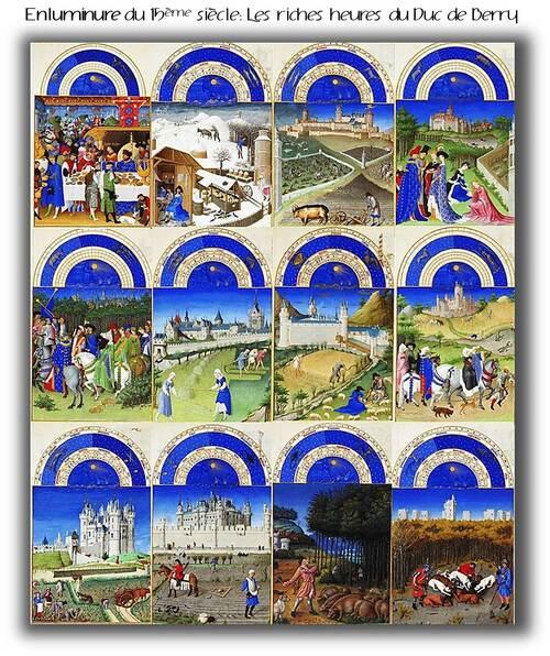 Les paysans au Moyen Age