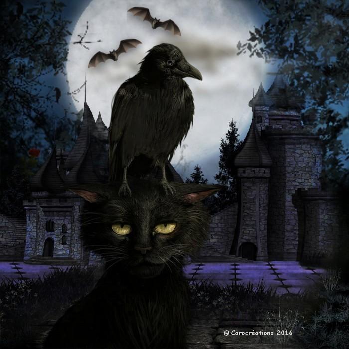 le chat et le corbeau