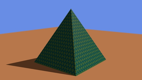 Texture répétée 19 fois en X et en Y