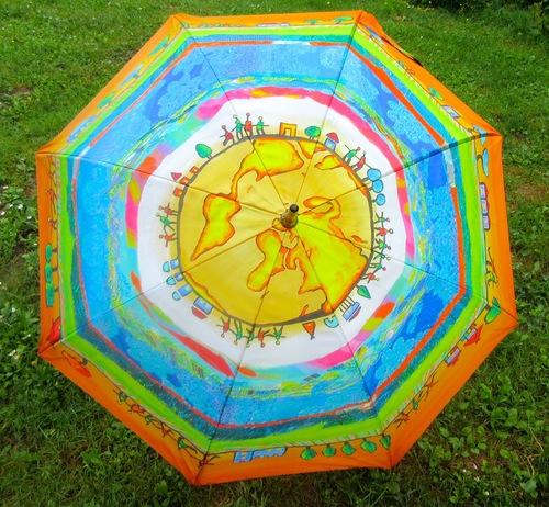 Les parapluies pliants