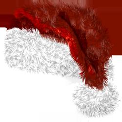 chapeaux rouges de père noël