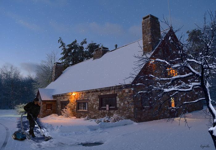 Ménage d'hiver