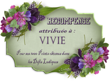 recompense vivie