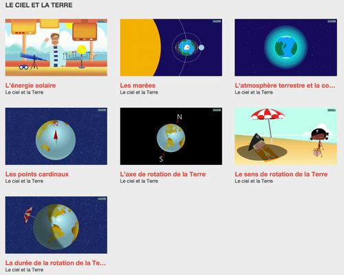 Vidéos les fondamentaux : sciences