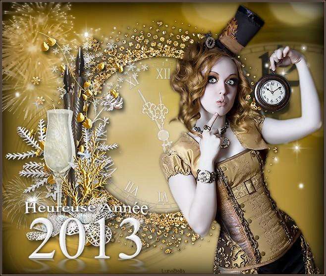 Heureuse Année 2013