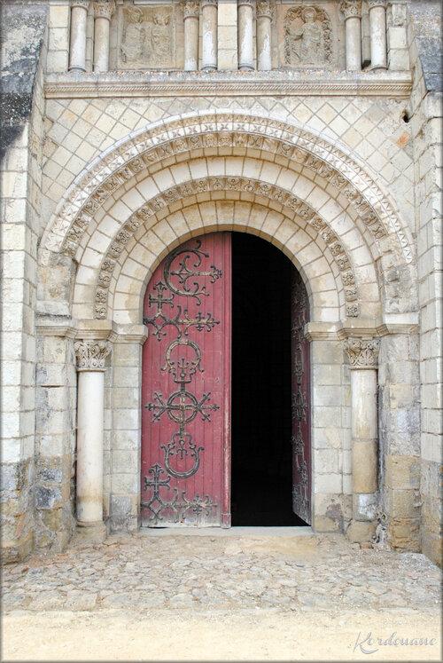 Photos de l'entrée de L'Abbaye de Fontevraud