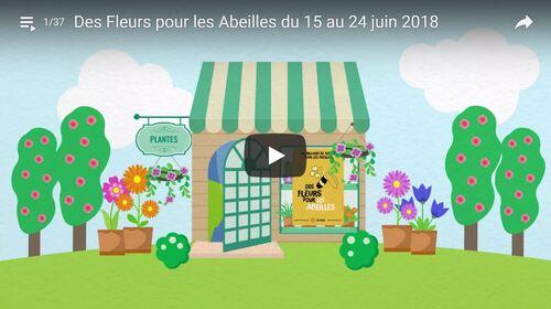 """Semaine """"Des fleurs pour les abeilles"""" du 15 au 24 juin 2018"""