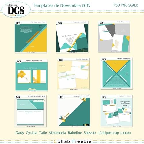 DCS: Template de Novembre