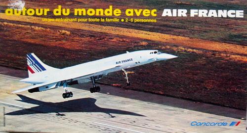 Autour du monde avec Air France
