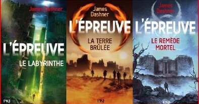 L'Épreuve T1 à 3 - James Dashner
