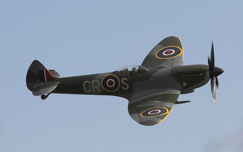 Fichier:Supermarine Spitfire Mk XVI.jpg