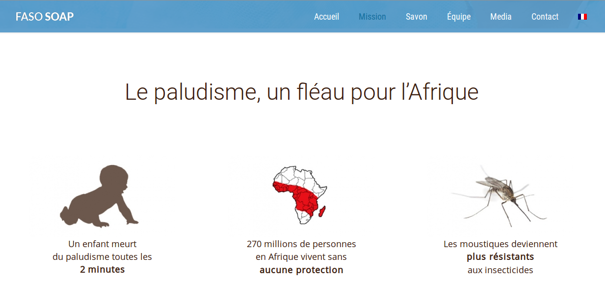 FASO SOAP, Faute de financement, le premier savon anti-malaria s'en remet au crowdfunding
