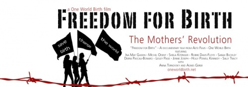 "[2012-08-18]  ""Freedom For Birth"" campaign video"