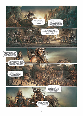 Elfe blanc, coeur noir de Peru, Bileau & Merli - Elfes, tome 3