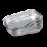 La barquette en aluminium