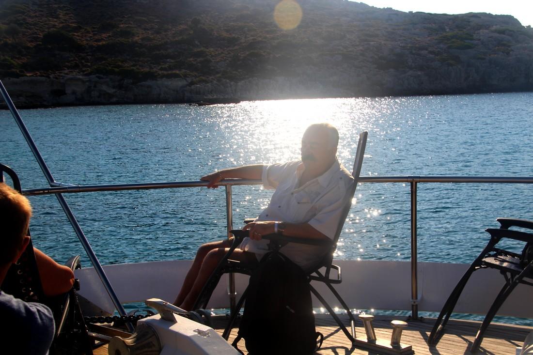 Balade en Yacht 1/2 et baignade