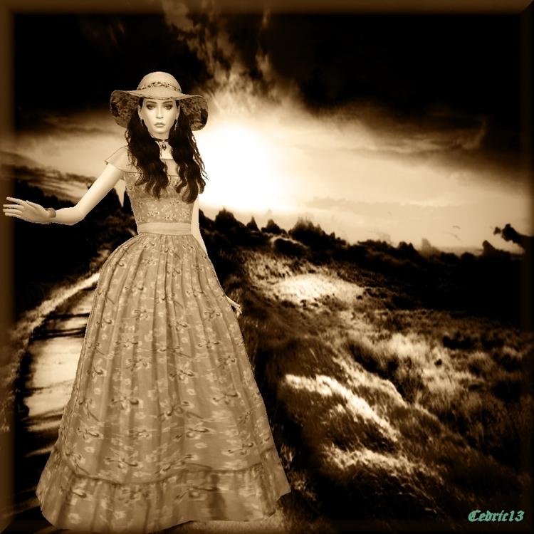 TS4 Sim: Scarlett O' Hara