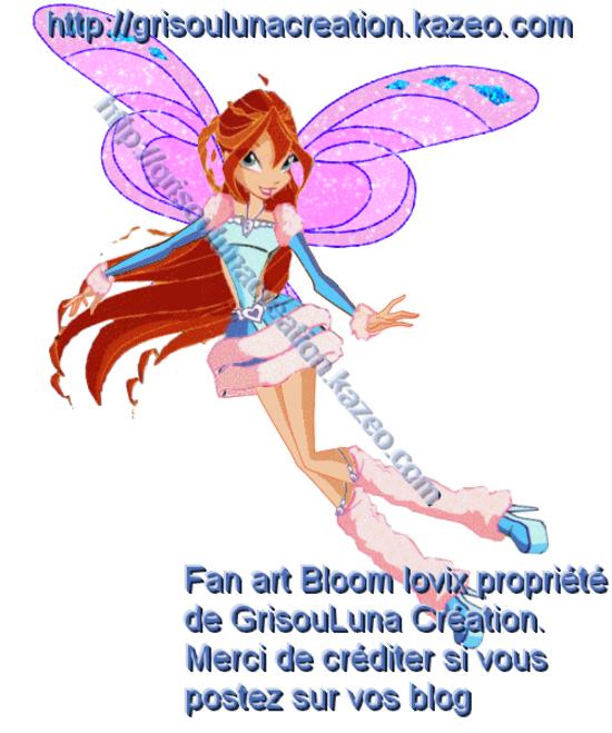 Bloom lovix by me avec tag