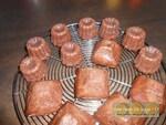 Cannelés au chocolat & fruits secs