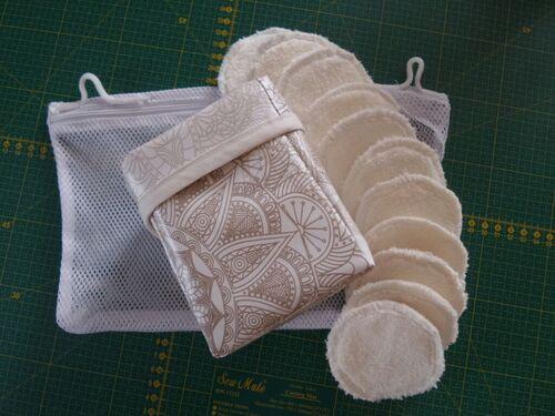 Coudre un kit de lingettes lavables